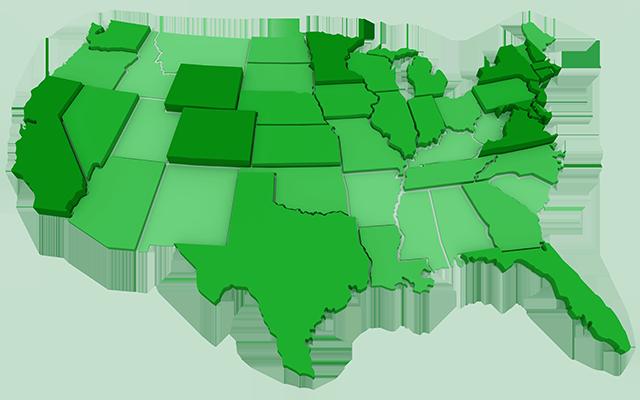 Continental US 640x400